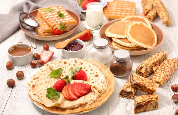 Comparing Popular Breakfast Items