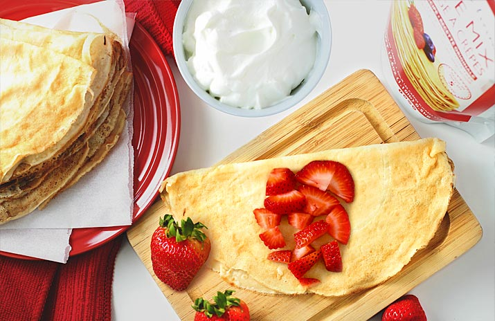 Eating Healthy? Try Crepes!